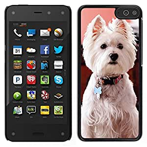 Stuss Case / Funda Carcasa protectora - West Highland White Terrier Dog Canine - Amazon Fire Phone