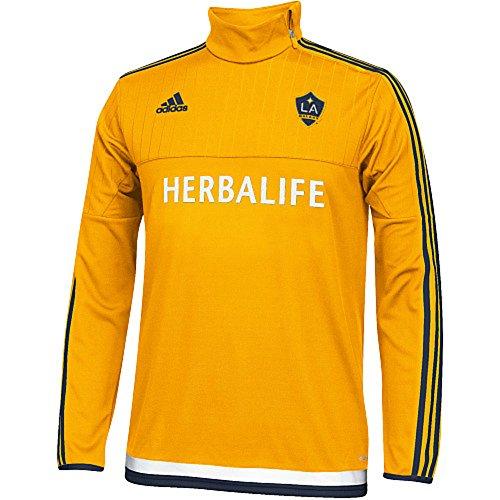 Los Angeles Galaxy Pregame Long-Sleeve Jersey Shirt - Jersey Galaxy Game Pre La