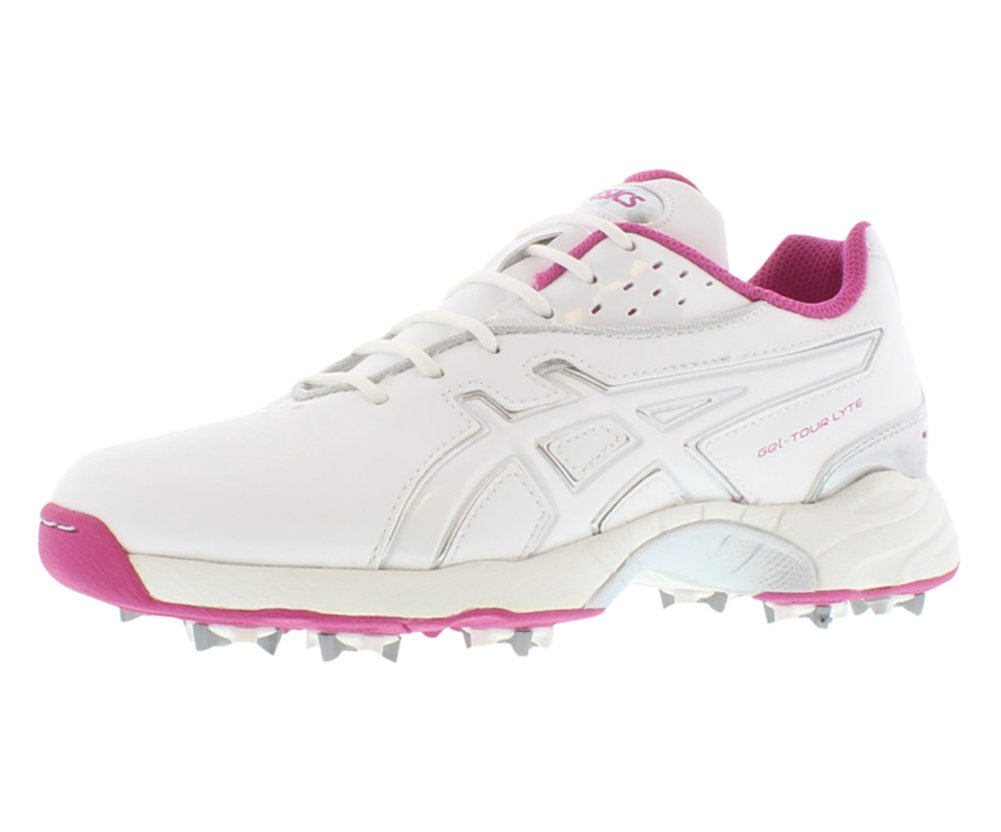 ASICS Women's GEL-Tour Lyte Golf Shoe,White/Orchid/Silver,9.5 M