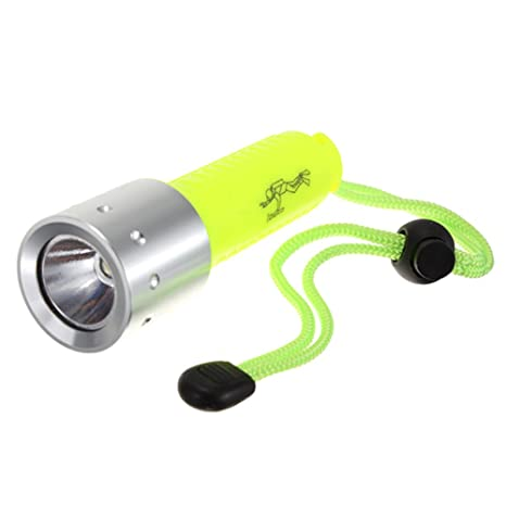 SODIAL 3000LM Band XML-T6 LED Lanttern Impermeable Submarinismo Submarinismo 18650 Linterna Divertida Lampara de
