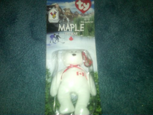 House Mcdonalds Mcdonald Ronald (Ty RARE Collectible Maple the Bear Beanie Baby! Ronald Mcdonald House Charities NEW)