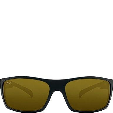 d40382455df Hobie Eyewear Baja Sunglasses (Satin Black Frame Sightmaster Polarized Pc  Lens)