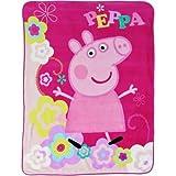 Peppa Pig Peppas Picnic 46'' x 60'' Kids Plush Throw