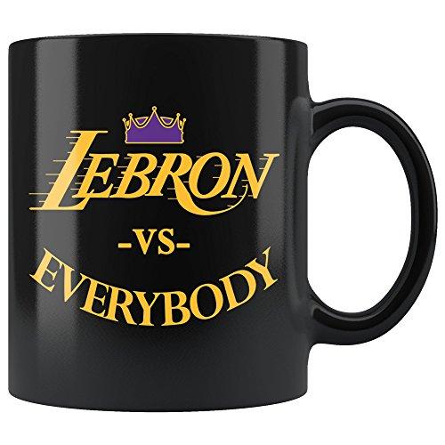 (Lebron VS Everybody Los Angeles Basketball Mug - Fan Coffee)