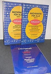 Hardcover Mathematik für alle - leicht gemacht - Band 1 [German] Book