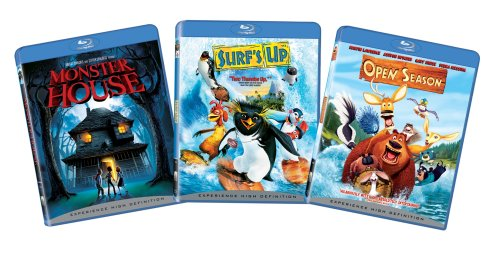 Sony Pictures Animation Bundle (Monster House, Surf's Up, Open Season) [Blu-ray] (Monster House Tv Series)