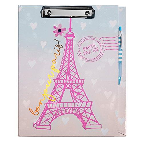 3C4G Bonjour Paris Clipboard (54347)