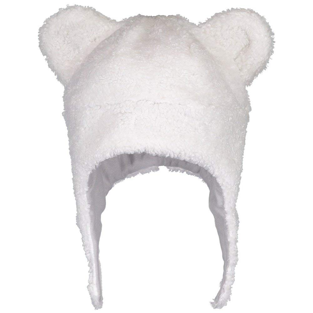 6e2b35194c4 Amazon.com  Obermeyer Kids Unisex Ted Fur Hat White LG XL  Clothing