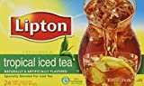 Image of 2 x 24 Gallon Size Lipton Tropical Iced Tea Bags (2 Boxes per order)