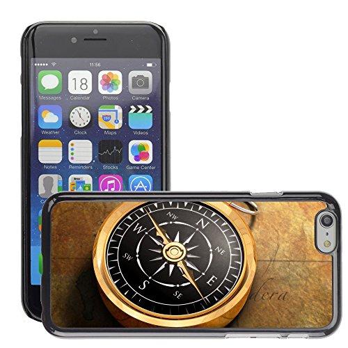 "Premio Sottile Slim Cassa Custodia Case Cover Shell // V00001981 Compass Map // Apple iPhone 6 6S 6G 4.7"""