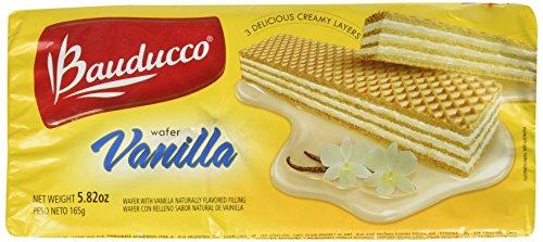 (Bauducco Cookie Wafer Sugar Free Vanilla, 5.82 oz)