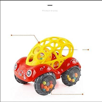 Amazon Com Vplus 1 Pcs Soft Plastic Rattle Car 6 12 Months Baby