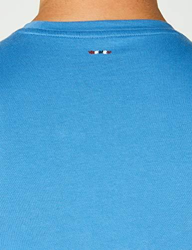 T azzurro Napapijri T shirt Bc2 Syros Homme Turquoise EE17qwa