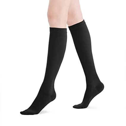 454c30edad Fytto 2120 Women's Compression Socks, 20-30mmHg Microfiber Support Hosiery  for Varicose Veins, Lymphedema, DVT and Aching Leg, Knee High