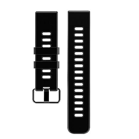 Willful Bracelet de Rechange pour Montre Connectée SW018 (Noir)