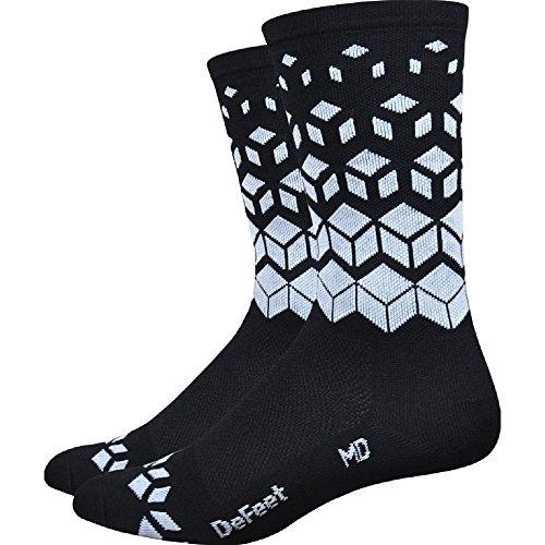 吹雪技術ファイアル(ディフィート) DeFeet メンズ 自転車 Aireator 6 Bike Socks [並行輸入品]