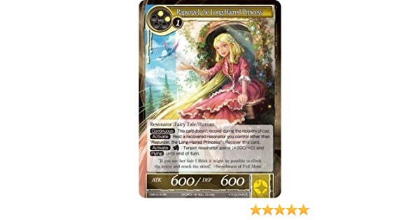 long haired princess cmf-014 Force of Will Rapunzel