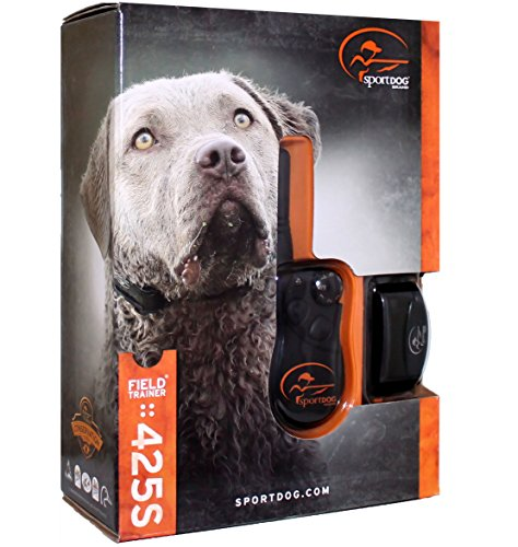 SportDOG Brand FieldTrainer 425S Stubborn Dog Remote Trainer - 500 Yard Range - Waterproof, Rechargeable Training Collar with Tone, Vibration, and Shock