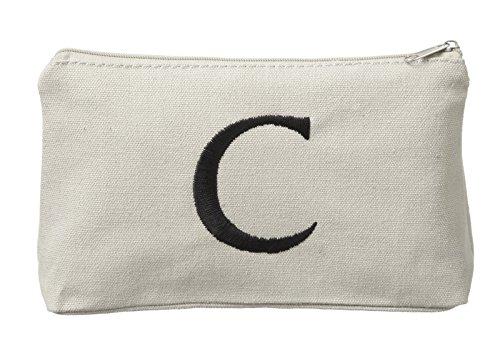 Ganz Monogrammed Cosmetic Bag Initial C