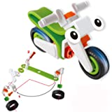 DAYONG DIY Take Apart Motorcycle Toy vehicle assembly playset Early childhood developmental skills toy for kids aged 3 and up (Green)