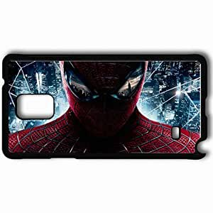 Personalized Samsung Note 4 Cell phone Case/Cover Skin Amazing spider man new movies Black