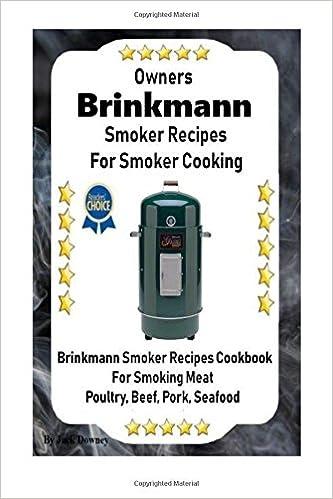 Smoke cooking recipe book : Brinkmann Corporation : Free ...