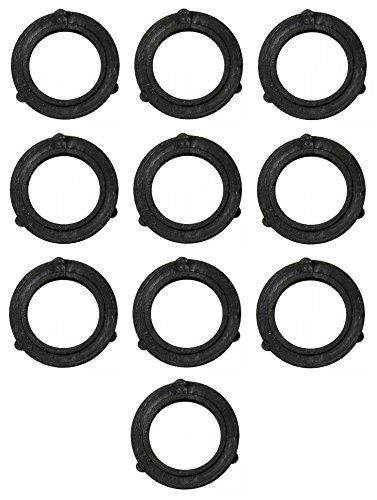 Vinyl Hose Washer - TronStore 10-Pack Premium Heavy Duty Vinyl Garden Hose Washers Seals