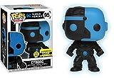 Funko Pop! Vinyl Justice League Cyborg Silhouette Glow in the Dark Entertainment Earth Exclusive
