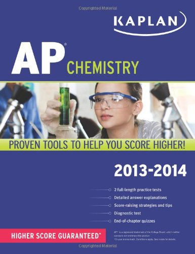 Kaplan AP Chemistry 2013-2014 (Kaplan AP Series)