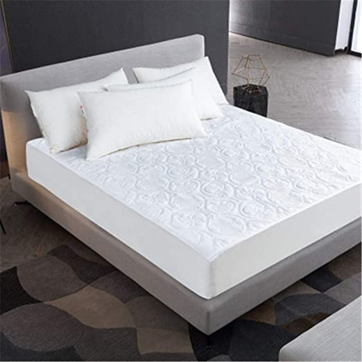 JUNDY Protector de colchón Impermeable hipoalergénico Premium ...