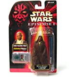 Star Wars Episode I: The Phantom Menace, Mace Windu (Jedi Cloakl) Action Figure, 3.75 Inches