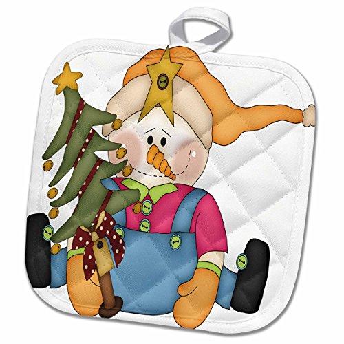 Christmas Tree Pot Holder - 8