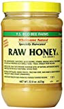 Y.S. Eco Bee Farms, Raw Honey, U.S. Grade A, 22.0 oz 4Pack (623 g) Raw Honey Pure, unpasteurized, Unfiltered,