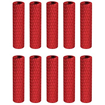 10PCS HobbyPark Aluminum M3x20mm Standoff Spacer Female-Female Round Column for RC Quadcopter Parts Red