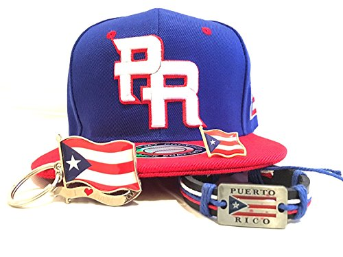 Puerto Rico flag Pr Baseball snapback Limited edition 4pc Boricua Classic Pack (Banner Outdoor Furniture)