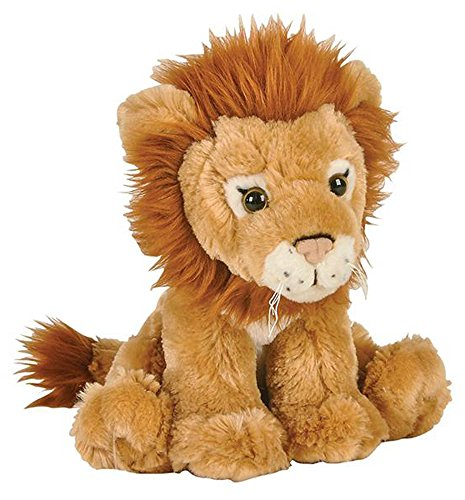 "Wildlife Tree 8"" African Lion Stuffed Animal Plush Floppy Zoo Species Collection"