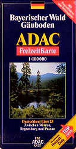 ADAC FreizeitKarte, Bl.25, Bayerischer Wald, Gäuboden (ADAC Freizeitkarten)
