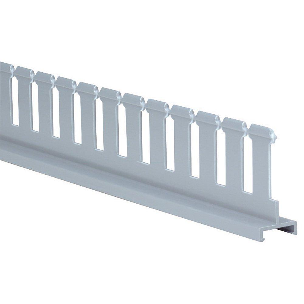 Light Gray Panduit SD3H6 Slotted Divider Line