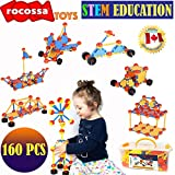 Building Toys | Educational STEM Set | Creative Learning Toys For Boys and Girls ages 3 4 5 6 7 8 9 10 + year old | Fun Construction Engineering Blocks | Best Toy Gift For kids Birthday | Christmas Children Game Kit Montessori