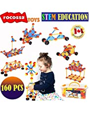 Building Toys   Educational STEM Set   Creative Learning Toys For Boys and Girls ages 3 4 5 6 7 8 9 10 + year old   Fun Engineering Blocks   Best Toy Gift For kids Birthday   Christmas Children Game Kit Montessori