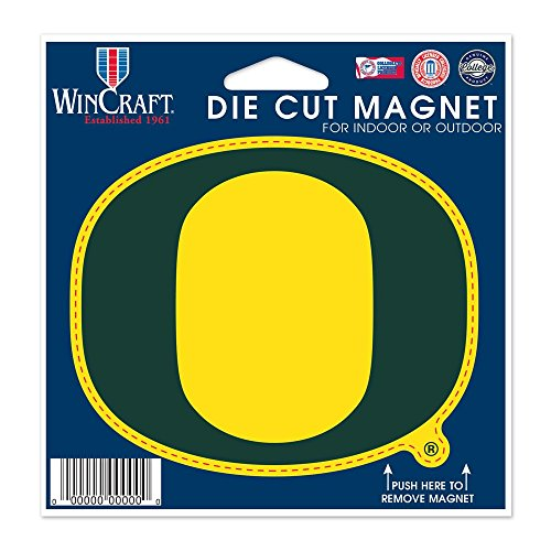 sity of Oregon Die Cut Magnet, 4.5
