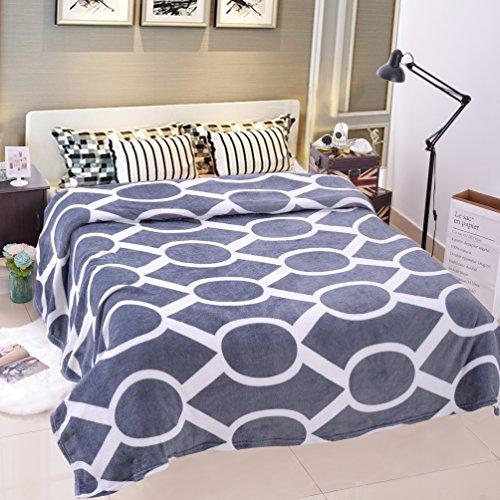 JML Plush Blankets Full Size , Soft Blankets - Flannel, Prin