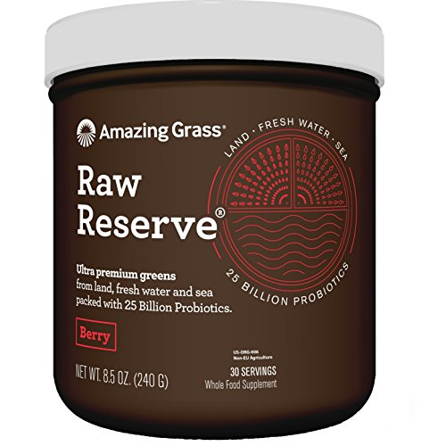 AMAZING GRASS Reserve Berry Green Superfood, 480 GR