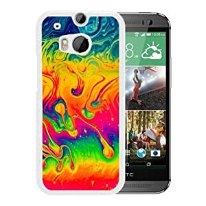 Color Mix Rainbow (2) Durable High Quality HTC ONE M8 Phone Case