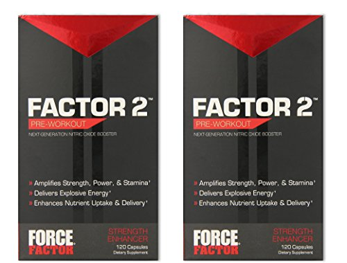 Force Factor 120 Capsules Pack