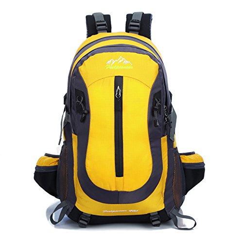 Professionelle outdoor Klettern Taschen Water-Resistant Paket Bewegung auf die Schultern zurück in großer Zahl, LJ0251 Gelb