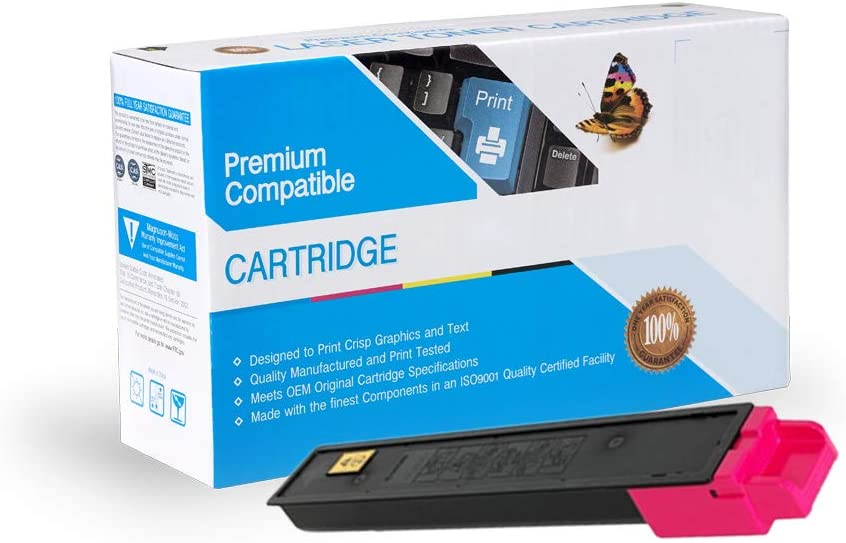 Works with: TASKalfa 2551ci On-Site Laser Compatible Toner Replacement for Kyocera-Mita TK8327M TK8329M Magenta