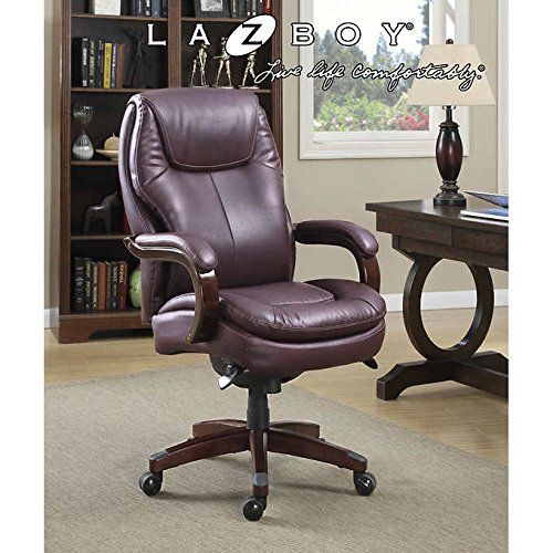 La-Z-Boy Aventine Big & Tall AIR Technology Executive Office (La Z-boy Leather Arm Chair)