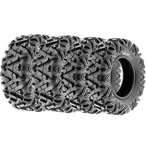 Price comparison product image SunF All Terrain ATV UTV Tires 25x8-12 & 25x11-10 6 PR A033 (Complete Full Set of 4)