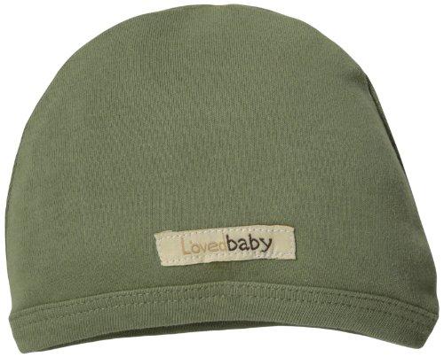 Cloth Green Cap (L'ovedbaby Unisex-Baby Newborn Organic Cute Cap, Sage, 3/6 Months)
